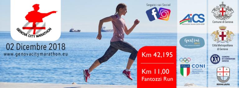 La prima edizione della Genova City Marathon