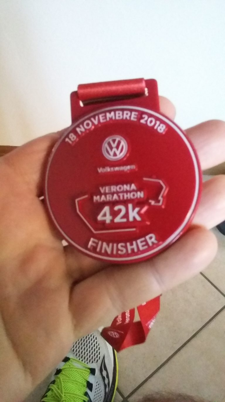 La Verona Marathon e me