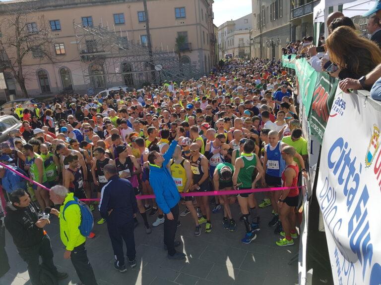 La mezza maratona di Oristano