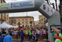 Partenza mezza maratona oristano