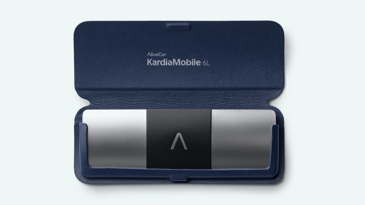 KardiaMobile 6L, pocket security